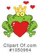Royalty-Free (RF) Frog Clipart Illustration #1050964