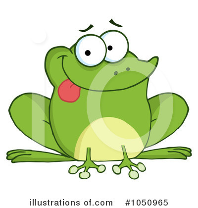 Frog Clipart #1050965 by Hit Toon
