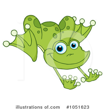 Frog Clipart #1051623 by Hit Toon