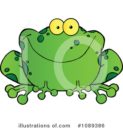 Frog Clipart #1089386 by Hit Toon