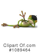 Royalty-Free (RF) Frog Clipart Illustration #1089464