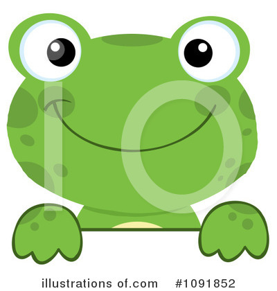 Frog Clipart #1091852 by Hit Toon