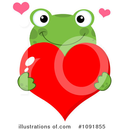 Frog Clipart #1091855 by Hit Toon