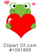 Royalty-Free (RF) Frog Clipart Illustration #1091855