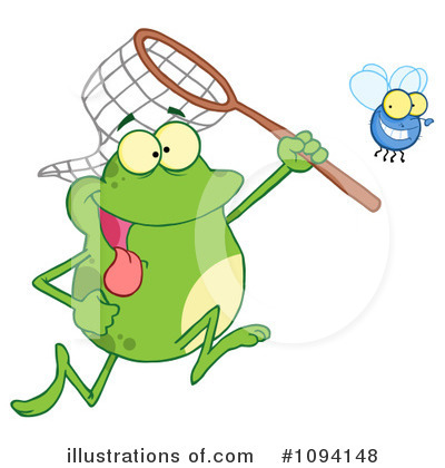 Frog Clipart #1094148 by Hit Toon