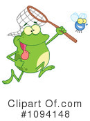 Royalty-Free (RF) Frog Clipart Illustration #1094148