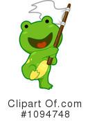 Royalty-Free (RF) Frog Clipart Illustration #1094748