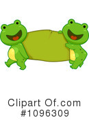 Royalty-Free (RF) Frog Clipart Illustration #1096309