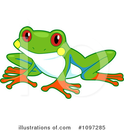 Frog Clipart #1097285 by BNP Design Studio