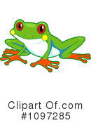 Royalty-Free (RF) Frog Clipart Illustration #1097285