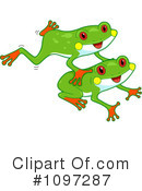 Royalty-Free (RF) Frog Clipart Illustration #1097287