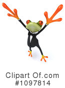 Royalty-Free (RF) frog Clipart Illustration #1097814