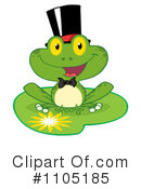 Frog Clipart #1105185 by Hit Toon