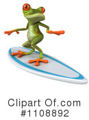 Royalty-Free (RF) Frog Clipart Illustration #1108892