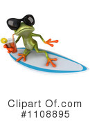 Royalty-Free (RF) Frog Clipart Illustration #1108895