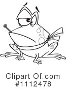 Royalty-Free (RF) Frog Clipart Illustration #1112478