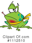 Royalty-Free (RF) Frog Clipart Illustration #1112510
