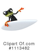 Royalty-Free (RF) Frog Clipart Illustration #1113482