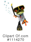 Royalty-Free (RF) Frog Clipart Illustration #1114270