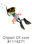 Royalty-Free (RF) Frog Clipart Illustration #1114271