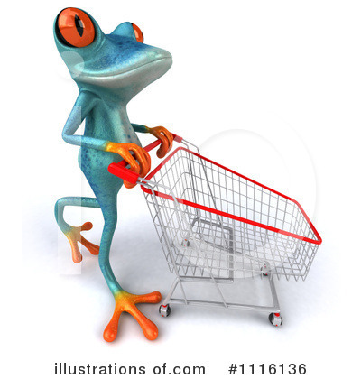 Royalty-Free (RF) Frog Clipart Illustration by Julos - Stock Sample #1116136