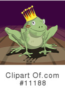 Frog Clipart #11188 by AtStockIllustration