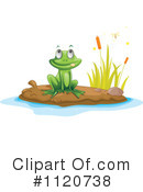 Royalty-Free (RF) Frog Clipart Illustration #1120738