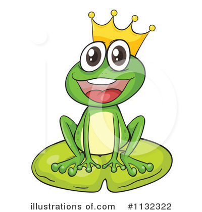 Frog Prince Clipart #1132322 by Graphics RF