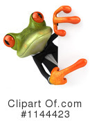 Royalty-Free (RF) frog Clipart Illustration #1144423
