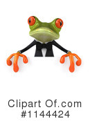 Royalty-Free (RF) frog Clipart Illustration #1144424