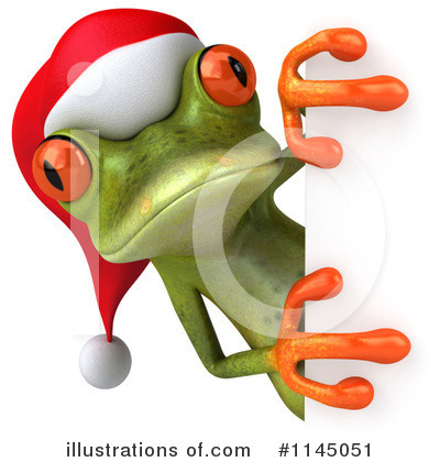 Green Frog Clipart #1145051 by Julos