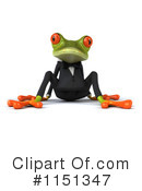 Royalty-Free (RF) frog Clipart Illustration #1151347