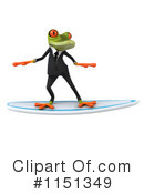 Royalty-Free (RF) frog Clipart Illustration #1151349