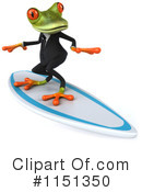Royalty-Free (RF) frog Clipart Illustration #1151350