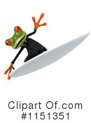 Royalty-Free (RF) frog Clipart Illustration #1151351