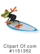 Royalty-Free (RF) frog Clipart Illustration #1151352