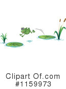 Royalty-Free (RF) Frog Clipart Illustration #1159973