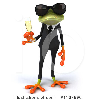 Formal Frog Clipart #1167896 by Julos