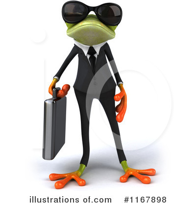 Formal Frog Clipart #1167898 by Julos