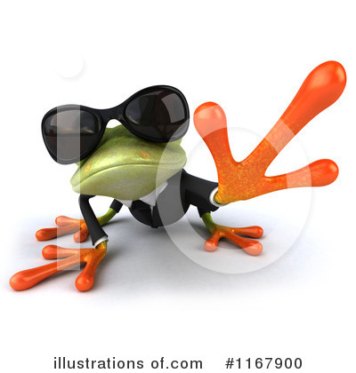 Formal Frog Clipart #1167900 by Julos