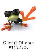 Royalty-Free (RF) frog Clipart Illustration #1167900