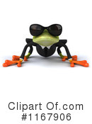 Royalty-Free (RF) frog Clipart Illustration #1167906