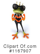 Royalty-Free (RF) frog Clipart Illustration #1167907