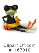 Royalty-Free (RF) frog Clipart Illustration #1167910