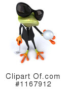 Royalty-Free (RF) frog Clipart Illustration #1167912