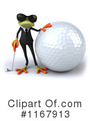 Royalty-Free (RF) frog Clipart Illustration #1167913