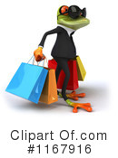 Royalty-Free (RF) frog Clipart Illustration #1167916