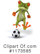 Royalty-Free (RF) Frog Clipart Illustration #1173585
