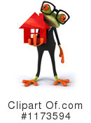 Royalty-Free (RF) frog Clipart Illustration #1173594