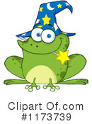 Royalty-Free (RF) Frog Clipart Illustration #1173739